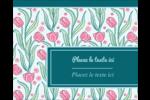 Fleurs picturales Étiquettes rondes gaufrées - gabarit prédéfini. <br/>Utilisez notre logiciel Avery Design & Print Online pour personnaliser facilement la conception.