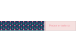 Fleurs délicates Étiquettes ovales - gabarit prédéfini. <br/>Utilisez notre logiciel Avery Design & Print Online pour personnaliser facilement la conception.