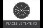 Trousse de toilette Carte Postale - gabarit prédéfini. <br/>Utilisez notre logiciel Avery Design & Print Online pour personnaliser facilement la conception.