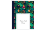 Journey to the tropics with these lavish Tropical Floral templates.