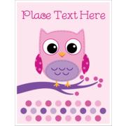 Owl Dots Pink