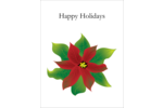 Add holiday nostalgia to custom projects with pre-designed Bold Poinsettia templates.