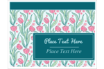 Add some artistic flair to your project with our Painterly Floral templates.