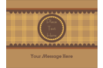 Bring warmth to any project with these pre-designed Pauline's Peanut Butter templates.