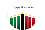 Add joyful symbolism to custom projects with pre-designed Kwanzaa Star Candles templates.
