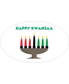 Set your project aglow with pre-designed Kwanzaa Candle templates.