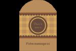 Beurre d'arachide de Pauline Étiquettes rectangulaires - gabarit prédéfini. <br/>Utilisez notre logiciel Avery Design & Print Online pour personnaliser facilement la conception.