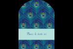 Paon Étiquettes rectangulaires - gabarit prédéfini. <br/>Utilisez notre logiciel Avery Design & Print Online pour personnaliser facilement la conception.