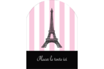 Style parisien Étiquettes rectangulaires - gabarit prédéfini. <br/>Utilisez notre logiciel Avery Design & Print Online pour personnaliser facilement la conception.