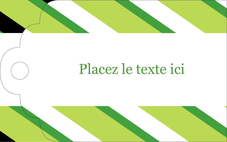 """2"""" x 1⅛"""" Étiquettes imprimables - Saint-Patrick"""