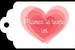 Saint-Valentin Étiquettes imprimables - gabarit prédéfini. <br/>Utilisez notre logiciel Avery Design & Print Online pour personnaliser facilement la conception.