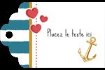 Ancre de Saint-Valentin  Étiquettes imprimables - gabarit prédéfini. <br/>Utilisez notre logiciel Avery Design & Print Online pour personnaliser facilement la conception.