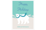 Have some fun this winter with these Polar Bear templates!