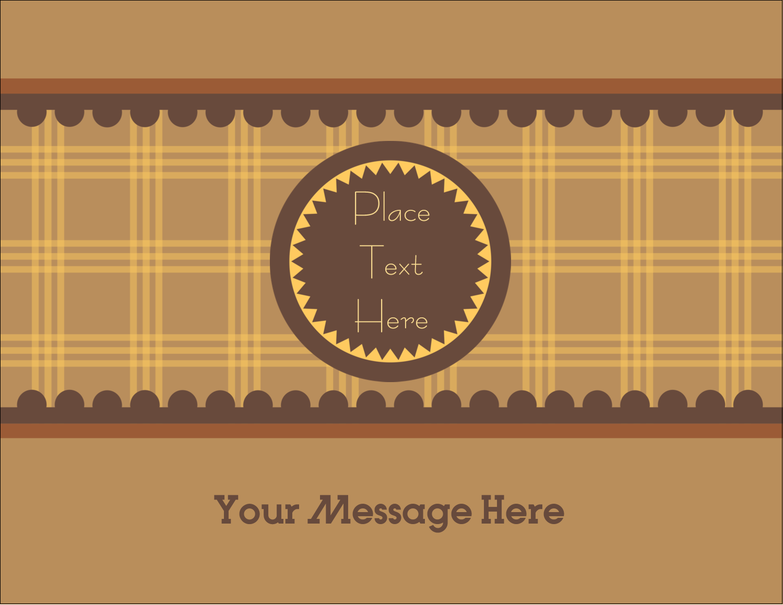 "4¼"" x 5½"" Postcard - Pauline's Peanut Butter"
