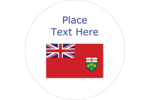 Decorate all your creative projects with the Ontario Flag - it is yours to discover!