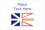 Decorate all your creative projects with the Newfoundland and Labrador Flag