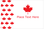 Celebrate your Canadian devotion with a loving red leaf wallpaper pattern!