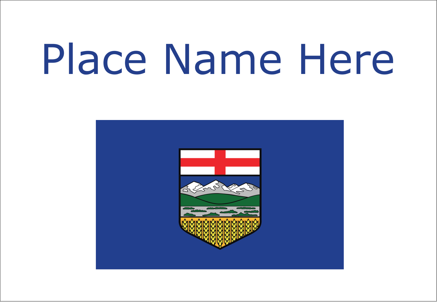 alberta flag pre designed label and card templates avery