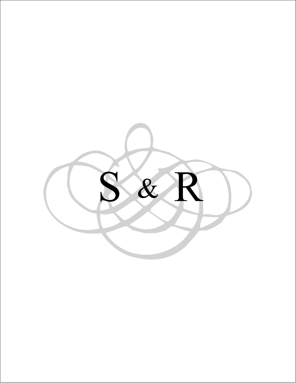 "4¼"" x 5½"" Note Card - Wedding Monogram"