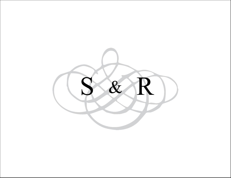 Monogramme de mariage Cartes de notes - gabarit prédéfini. <br/>Utilisez notre logiciel Avery Design & Print Online pour personnaliser facilement la conception.