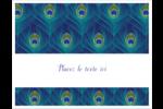 Paon Cartes Et Articles D'Artisanat Imprimables - gabarit prédéfini. <br/>Utilisez notre logiciel Avery Design & Print Online pour personnaliser facilement la conception.