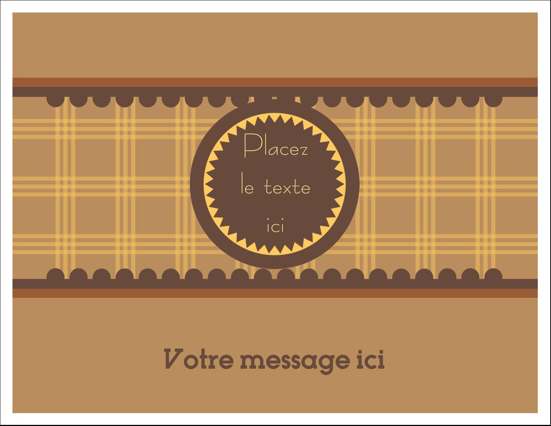 """8½"""" x 11"""" Cartes Et Articles D'Artisanat Imprimables - Beurre d'arachide de Pauline"""