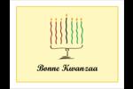 Kinara de Kwanzaa Cartes Et Articles D'Artisanat Imprimables - gabarit prédéfini. <br/>Utilisez notre logiciel Avery Design & Print Online pour personnaliser facilement la conception.