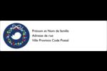 Couronne de la paix Étiquettes D'Adresse - gabarit prédéfini. <br/>Utilisez notre logiciel Avery Design & Print Online pour personnaliser facilement la conception.