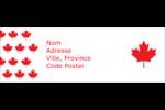 Motif à feuille d'érable Intercalaires / Onglets - gabarit prédéfini. <br/>Utilisez notre logiciel Avery Design & Print Online pour personnaliser facilement la conception.