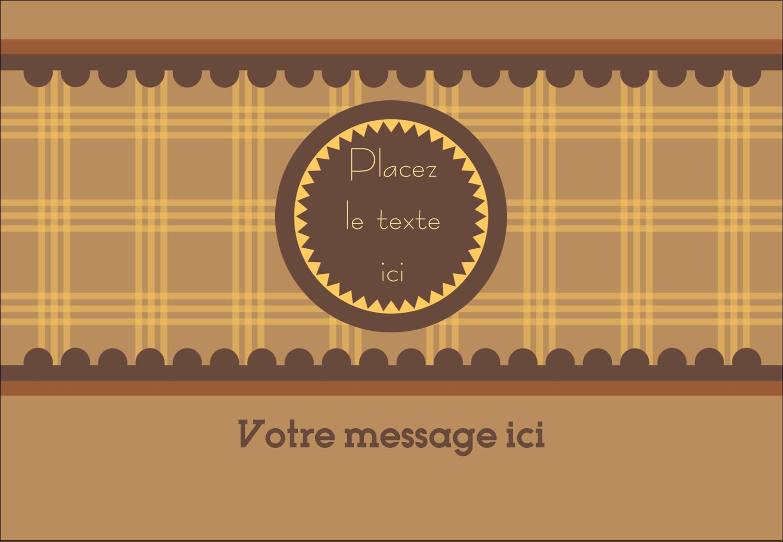 """1¼"""" Étiquettes à codage couleur - Beurre d'arachide de Pauline"""