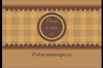 Beurre d'arachide de Pauline Étiquettes à codage couleur - gabarit prédéfini. <br/>Utilisez notre logiciel Avery Design & Print Online pour personnaliser facilement la conception.