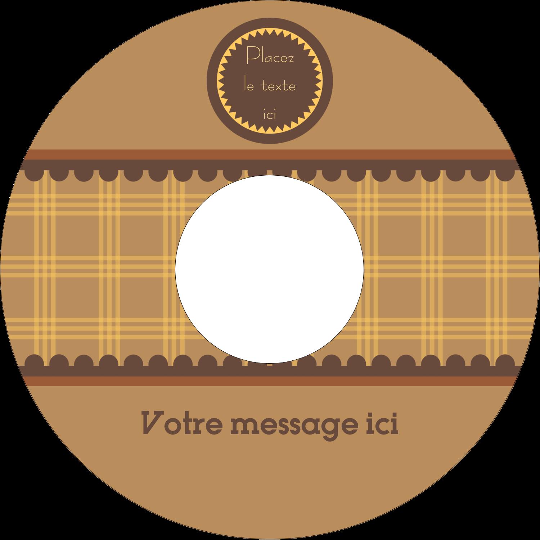 """⅔"""" x 3-7/16"""" Étiquettes de classement - Beurre d'arachide de Pauline"""