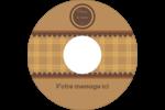 Beurre d'arachide de Pauline Étiquettes de classement - gabarit prédéfini. <br/>Utilisez notre logiciel Avery Design & Print Online pour personnaliser facilement la conception.