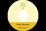 Kinara de Kwanzaa Étiquettes de classement - gabarit prédéfini. <br/>Utilisez notre logiciel Avery Design & Print Online pour personnaliser facilement la conception.