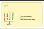 Kinara de Kwanzaa Étiquettes d'adresse - gabarit prédéfini. <br/>Utilisez notre logiciel Avery Design & Print Online pour personnaliser facilement la conception.