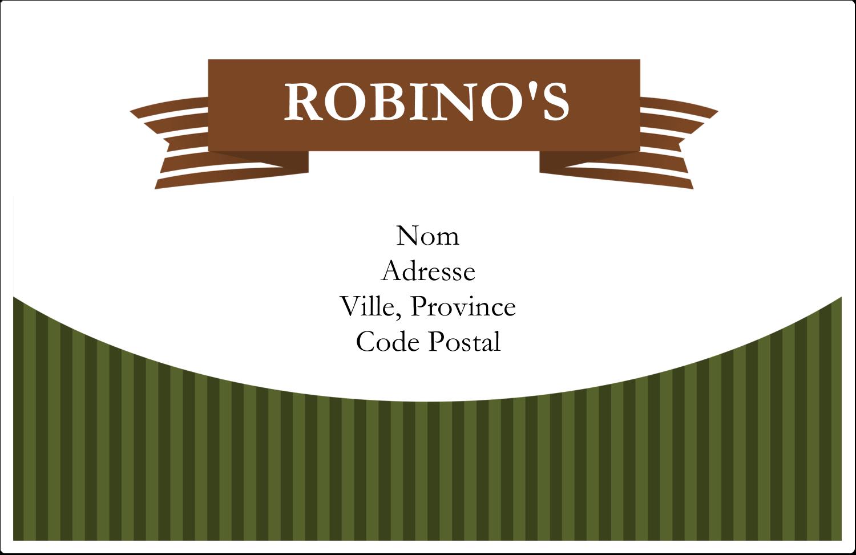 Sauce italienne à la viande pour pâtes Étiquettes d'adresse - gabarit prédéfini. <br/>Utilisez notre logiciel Avery Design & Print Online pour personnaliser facilement la conception.