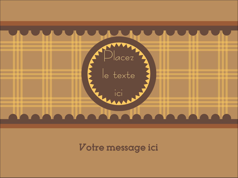 """3"""" x 4"""" Badges - Beurre d'arachide de Pauline"""