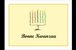 Kinara de Kwanzaa Badges - gabarit prédéfini. <br/>Utilisez notre logiciel Avery Design & Print Online pour personnaliser facilement la conception.