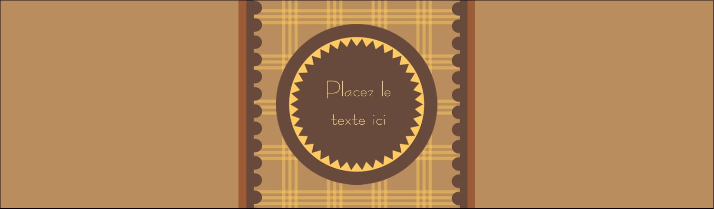 """3½"""" x 11"""" Affichette - Beurre d'arachide de Pauline"""