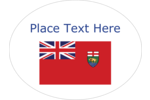 Celebrate Friendly Manitoba by decorating all your creative projects with the Manitoba flag.