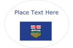 Celebrate the Wild Rose Country by decorating all your creative projects with the Alberta Flag.