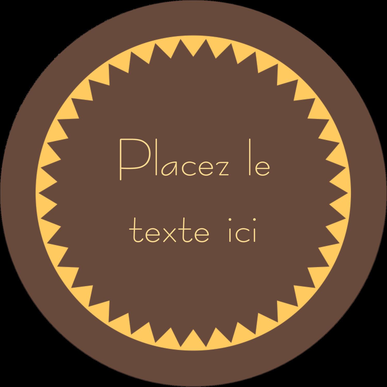 """3-7/16"""" x 15/16"""" Étiquettes de classement - Beurre d'arachide de Pauline"""