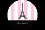 Style parisien Étiquettes arrondies - gabarit prédéfini. <br/>Utilisez notre logiciel Avery Design & Print Online pour personnaliser facilement la conception.