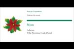 Grand poinsettia Étiquettes Pour Copieurs - gabarit prédéfini. <br/>Utilisez notre logiciel Avery Design & Print Online pour personnaliser facilement la conception.