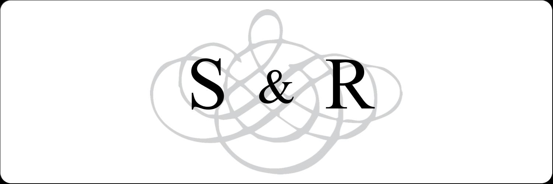 Monogramme de mariage Étiquettes Polyvalentes - gabarit prédéfini. <br/>Utilisez notre logiciel Avery Design & Print Online pour personnaliser facilement la conception.