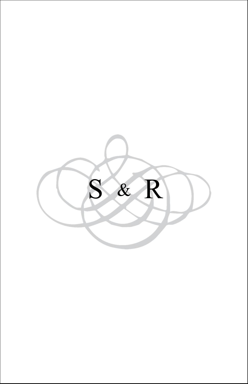 """8½"""" x 5"""" Cartes Et Articles D'Artisanat Imprimables - Monogramme de mariage"""