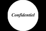 Personnel 3 Étiquettes à codage couleur - gabarit prédéfini. <br/>Utilisez notre logiciel Avery Design & Print Online pour personnaliser facilement la conception.