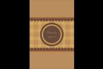 Beurre d'arachide de Pauline Reliures - gabarit prédéfini. <br/>Utilisez notre logiciel Avery Design & Print Online pour personnaliser facilement la conception.