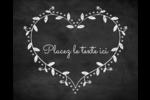 L'amour en tableau Étiquettes rondes gaufrées - gabarit prédéfini. <br/>Utilisez notre logiciel Avery Design & Print Online pour personnaliser facilement la conception.