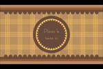 Beurre d'arachide de Pauline Carte d'affaire - gabarit prédéfini. <br/>Utilisez notre logiciel Avery Design & Print Online pour personnaliser facilement la conception.
